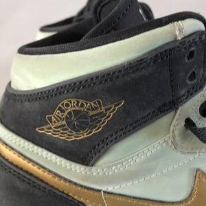 Nike Shoes - Nike Air Jordan 1 Retro High GG Mint Foam Gold 6Y b3831be0e2